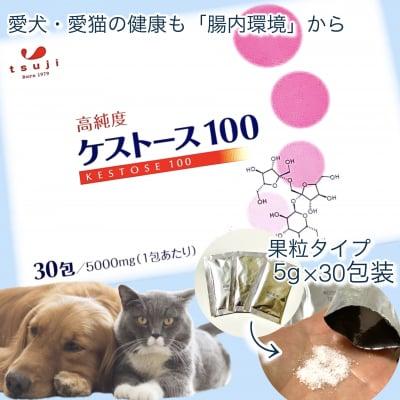 ケストース(愛犬・愛猫用)高純度ケストース100/腸内環境改善でアレルギー改善‼︎