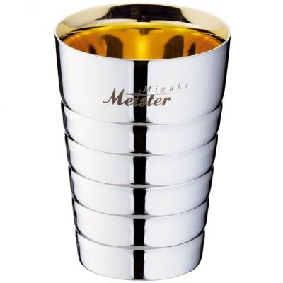 【メイドイン燕の逸品】Migaki Meister ペアカップ
