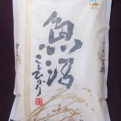 精米2キロ 魚沼産コシヒカリ 棚田米