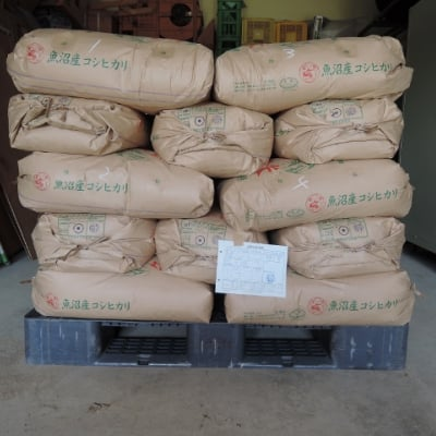 玄米30キロ 魚沼産コシヒカリ 棚田米