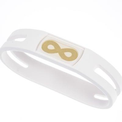 【ホワイト Mサイズ内径18cm】簡単・安全・安心・健康サポート&転倒予防‼ 腕につけるだけで、ポケッ...