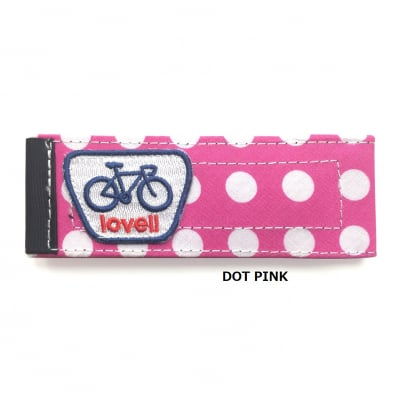 lovell BOTTOM BAND DOT PINK