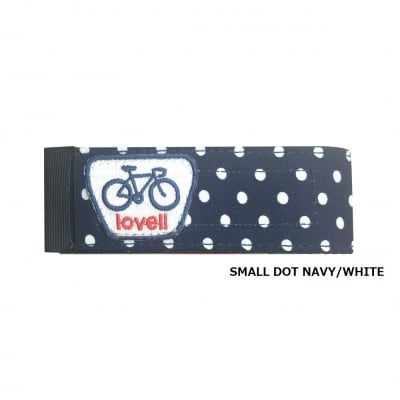 lovell BOTTOM BAND SMALLDOT NAVY/WHITE