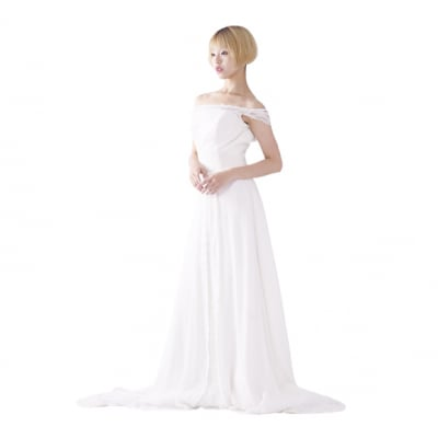 【激安】ウエディングドレス/ウェディングドレス/中古/ホワイトドレス/ww-0041