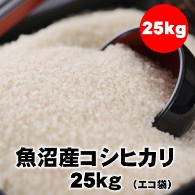 【今年だけの処分価格】25kg魚沼産コシヒカリ/令和元年産(精米)
