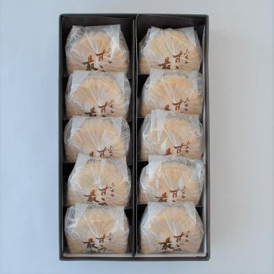 九州銘菓ふくらすずめ最中(10個入り) :福が舞い込む福良雀の最中です